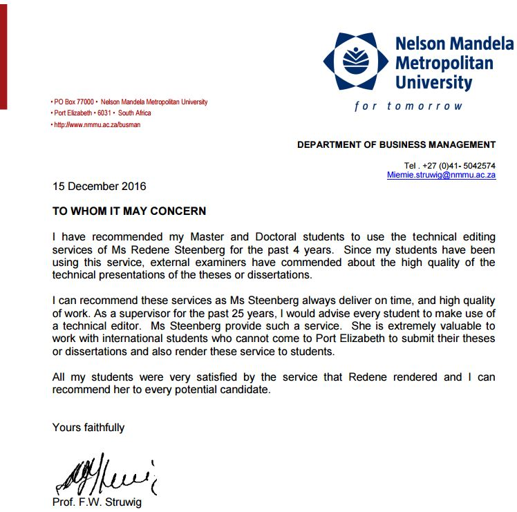 nmmu thesis guidelines